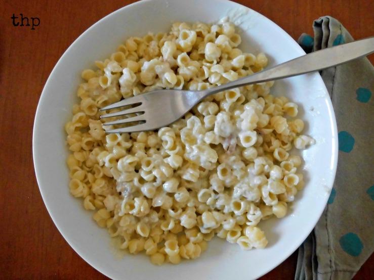 blue mac&cheese