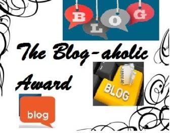 Image result for blog-aholic award