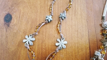 thrift store necklace