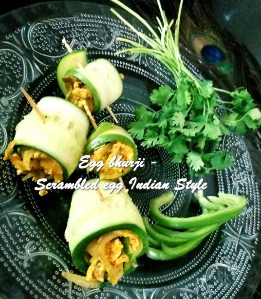 TRH Egg bhurji - Scrambled egg Indian Style