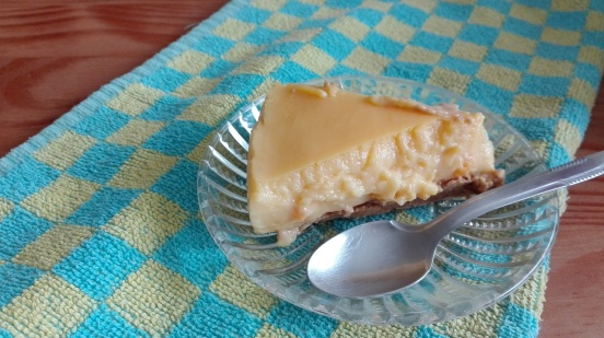 no bake custard cake