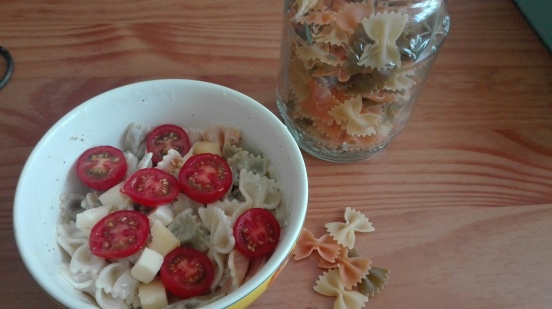 pasta and cheese salad 2