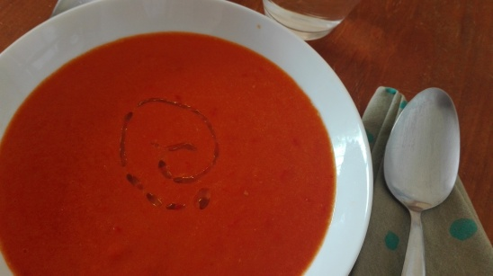 red pepper soup 3