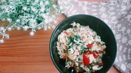 rice & veggies salad