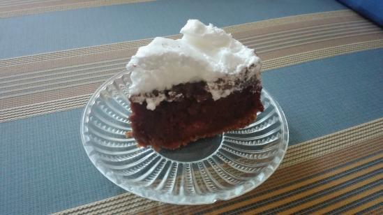 S'mores cake piece