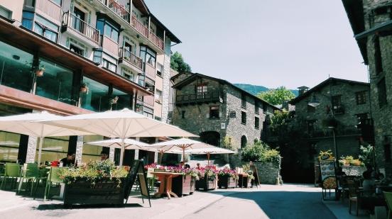 A nice square in Ordino