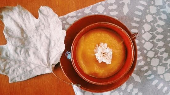apple & pumpkin soup