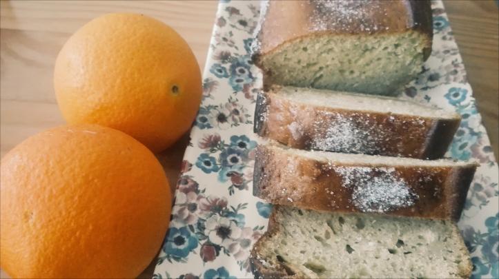 sliced orange bread